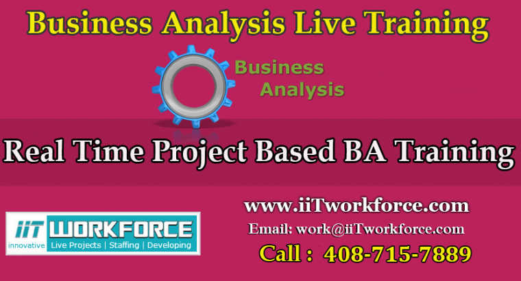 BA Real-time Project Workshop from iiT Workforce