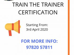 Online TTT Certification