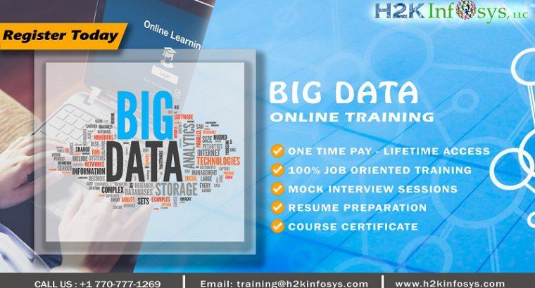 Bigdata Training for Promising Career