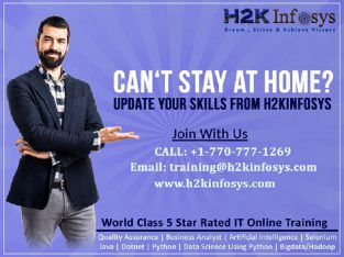 Upgrade your skills from H2kinfosys IT online training