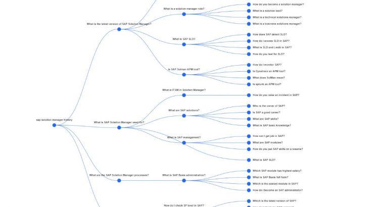 SAP Solution Manager Evolution/ History